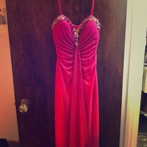 Magenta/purple/pink formal dress